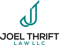 Joel Thrift Personal Injury Attorney Logo
